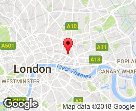Google Map of Bishopsgate, London EC2N 4AY,