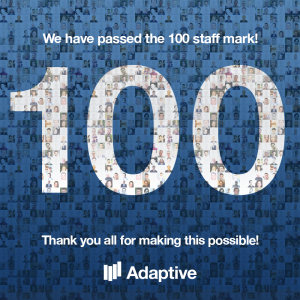 100 employees mark