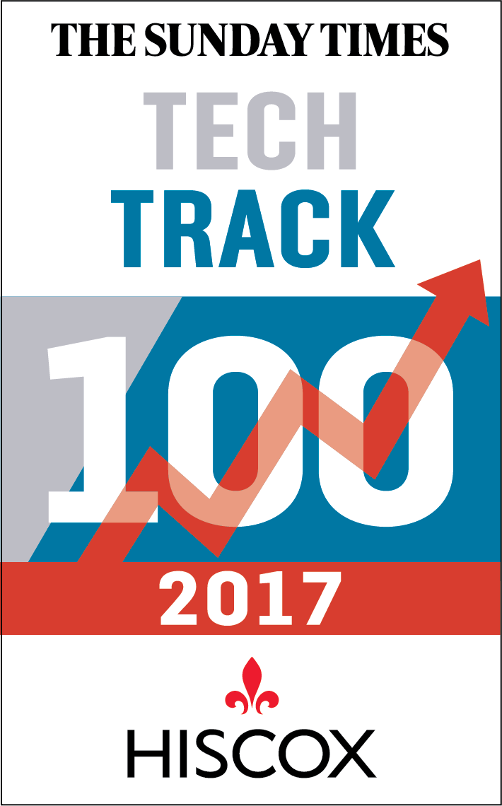 The Sunday Times Tech Track 100, financial software development, fintech