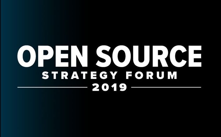 Open Source Strategy Forum 2019