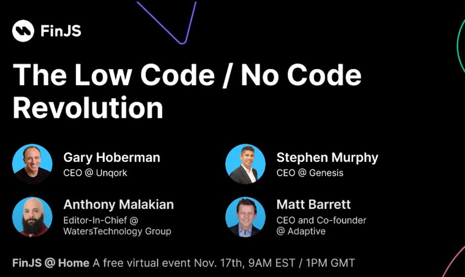 The Low Code/No Code Revolution